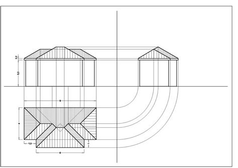 tetto padiglione artedis 2 classe seconda prof vincenzo esposito