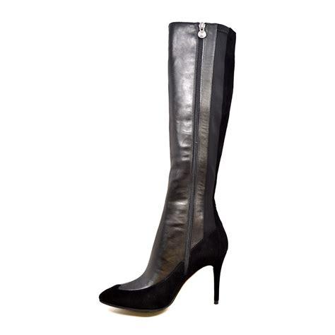 solemani s aviva x slim 12 13calf black leather