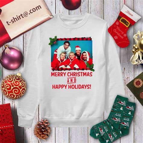 nsync merry christmas  happy holidays shirt sweater cool  shirt hoodie tank top