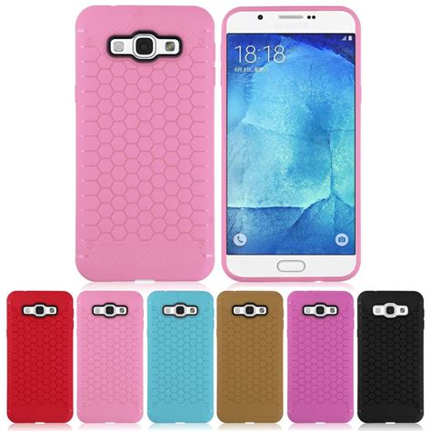slim flexible silicone fitted case rugged  cover