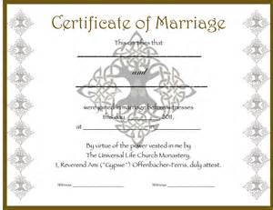 funny marriage certificate templates pictures to pin on