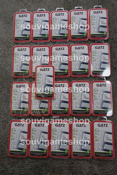 New 3ds Xl Gatz Tempered Glass Protector jual beli paling murah new 3ds xl tempered glass