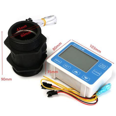 misuratore di portata acqua misuratore di portata quantitativa zj lcd m lcd digitale