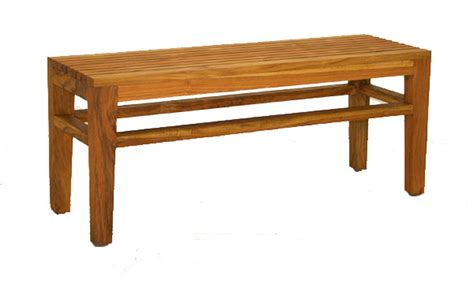 on the bench fong brothers co fb 5194 2 teak bench