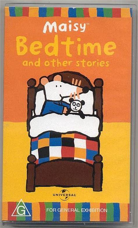 Maisy S Bedtime maisy bedtime and other stories vhs for children 0 4 ebay