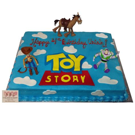 birthday toys 1784 story sheet cake abc cake shop bakery