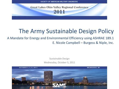 design for environment guidelines ppt ppt sustainable design wednesday october 5 2011