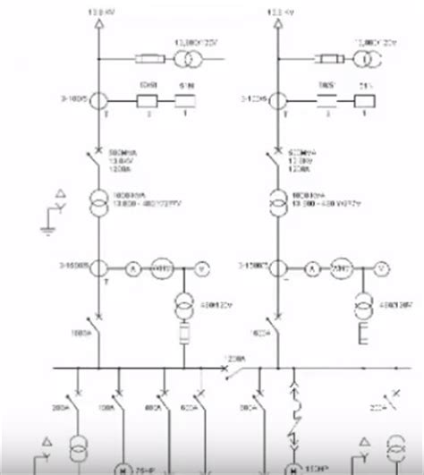 what is single line diagram sld electrical