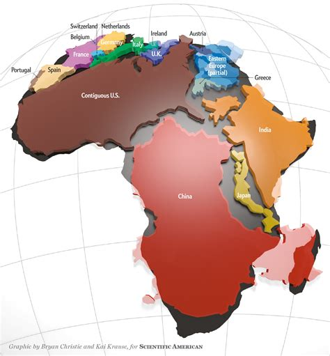 africa map vs usa africa facts bingle bog facts