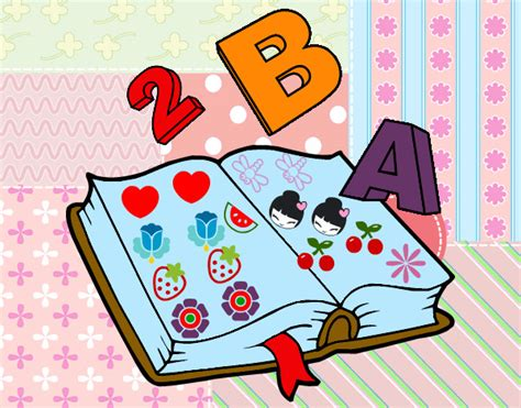 libro del dibujo infantil a las partes del libro thinglink