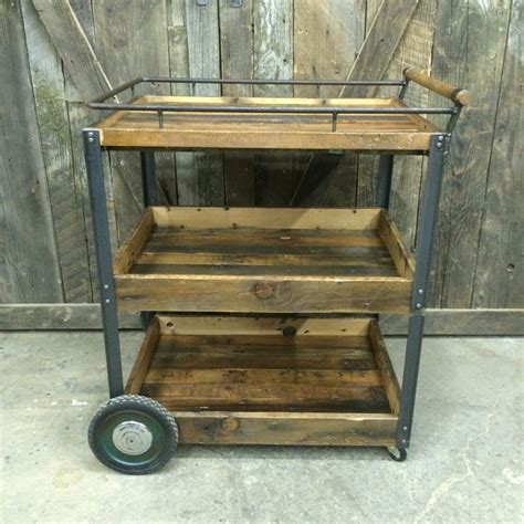 Handmade Furniture Vancouver - bar cart industrial home bar vancouver by j s