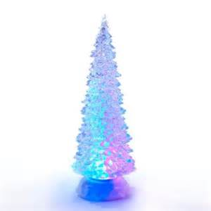 12 25 quot battery operated led lighted swirl christmas tree