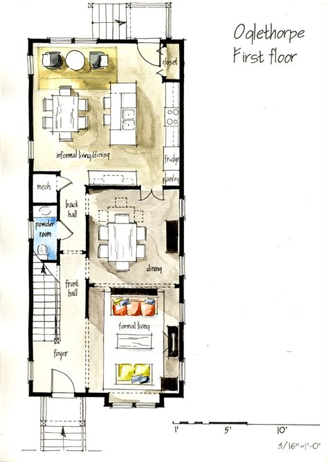 real estate floor plan real estate watercolor 2d floor plans part 1 on behance