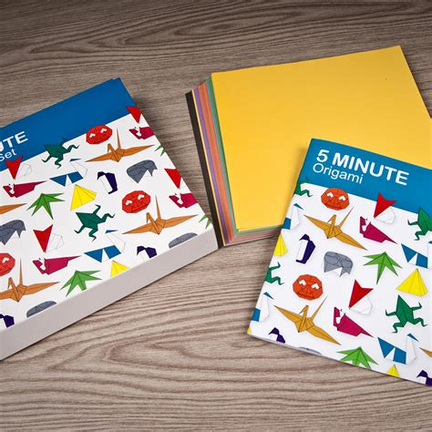5 Minute Origami - 5 minute origami set gifts for from