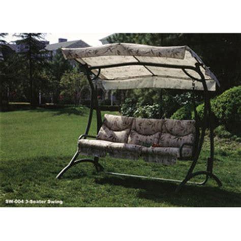three seater swing seats outdoor furniture outdoor furniture 3 seater swing chair
