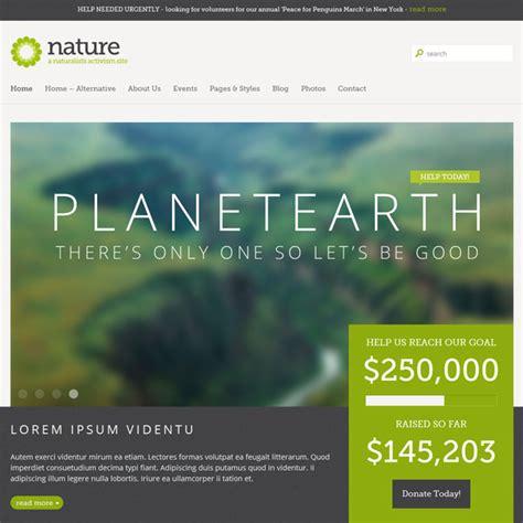 Themes Wordpress Nature   nature responsive wordpress theme best wordpress themes 2017
