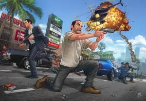 Grand Theft Auto 5 The Geeky Nerfherder Cool Gta V By Brown
