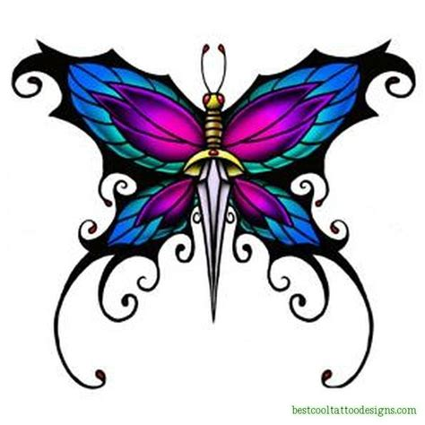 cool butterfly tattoo designs butterflies archives best cool designs