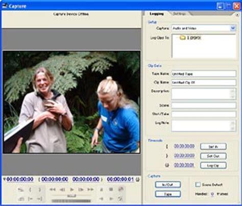 adobe premiere pro usb video capture video editing tutorial