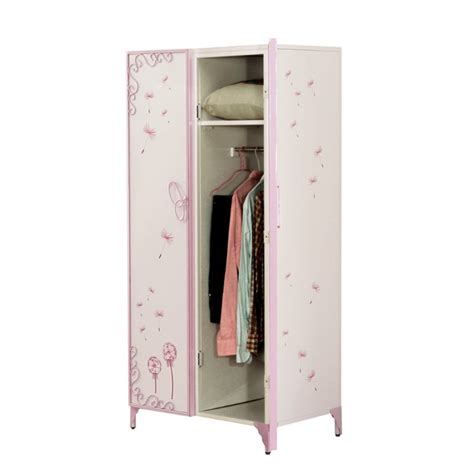 kids armoire wardrobe acme furniture priya ii kids wardrobe armoire in white 30540