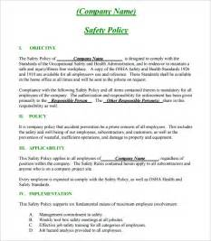 safety plan template construction safety plan template 17 free word pdf