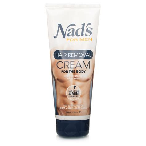 nad s for men hair removal cream for the body 200ml