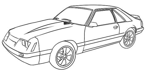 mustang outline pictures inspirational pictures