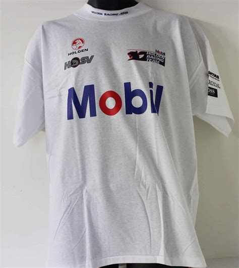 Tshirt Mobil Holden hrt t shirt hsv holden racing team mobil 1995 brock mezera