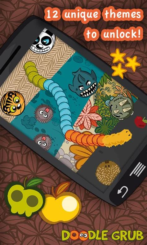 doodle grub twisted snake android apps on play
