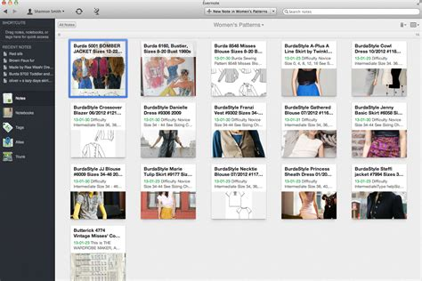 sewing pattern organization software how i organized my growing hoard of sewing patterns a