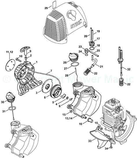 stihl ht 101 parts diagram stihl 024 chainsaw parts diagram stihl free engine image
