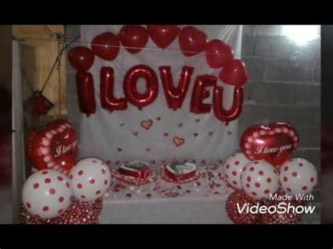 decoracion para aniversarios decoracion con globos para san valentin y para aniversario