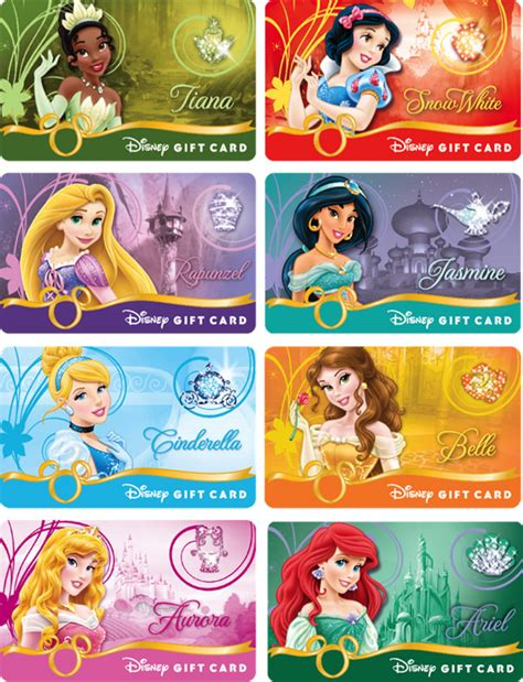 Park Royal Gift Cards - new disney gift cards fly in this summer planes star wars princess designs have