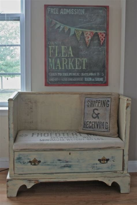 bench made from dresser love this bench made out of a dresser reclaimed to fame pinterest