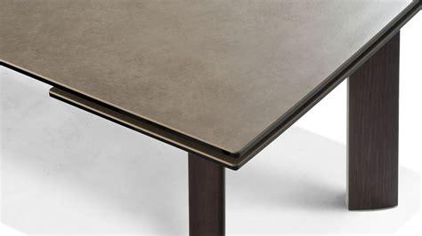 grande table de repas roche bobois chrono wood meuble et
