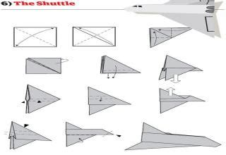 How To Make Awesome Paper Planes - how to make cool paper planes www pixshark images
