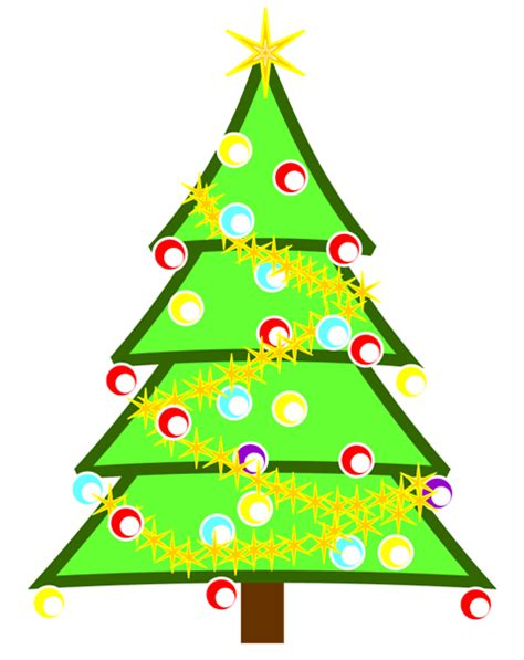 animated christmas tree clip art pictures of trees clipart best