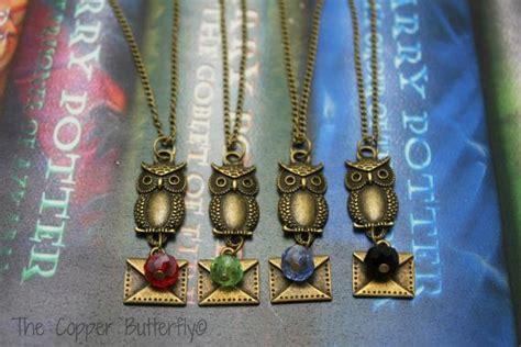 Hogwarts Acceptance Letter Pendant Hogwarts Acceptance Letter B Harry Potter Inspired Necklace Gryffindor Slytherin Green