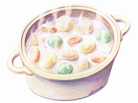 桌布天堂 手繪美食 美食彩圖插畫33