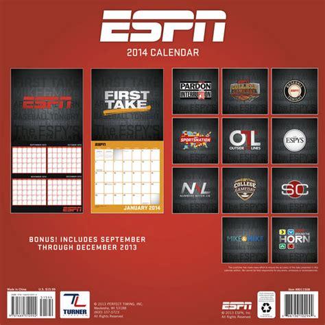 Espn Calendar Sports Calendars