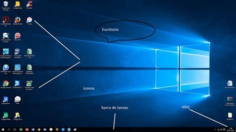 imagenes de windows 10 y sus partes taller de computacion septiembre 2016