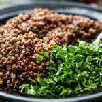 come cucinare grano saraceno insalata di fagioli neri