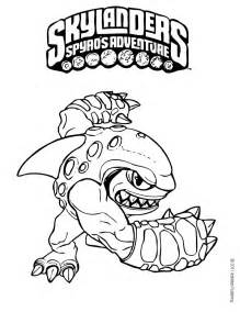 skylander coloring pages terrafin coloring pages hellokids
