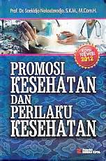 Ilmu Perilaku Kesehatan Soekidjo Notoatmodjo Rineka Cipta toko buku rahma promosi kesehatan dan perilaku kesehatan