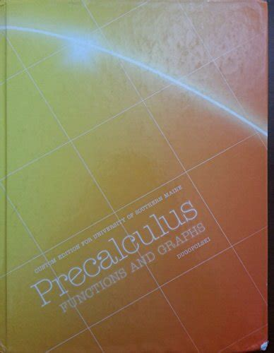 precalculus custom edition for the university of massachusetts lowell taken from the 3rd edition ebook acap1395 on amazon com marketplace sellerratings com