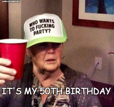 50th birthday meme happy 50th birthday memes wishes images happy wishes