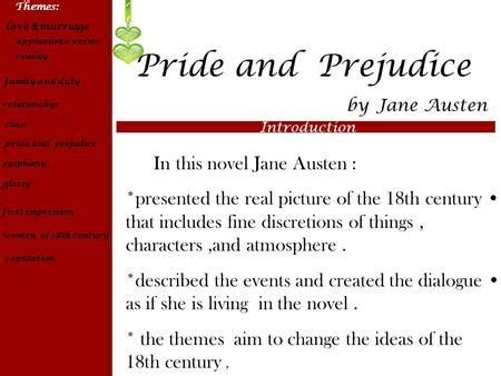 themes of marriage in pride and prejudice analysis questions volume 3 ppt video online download