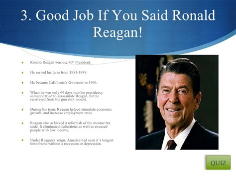 president ronald reagan ppt video online download who am i powerpoint