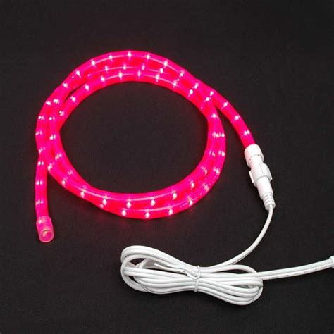 custom pink rope light kit 120v 1 2 quot novelty lights