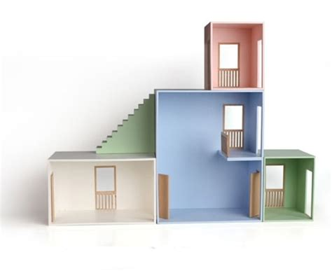 Handcrafted Doll Houses - hase weiss doll house handmade